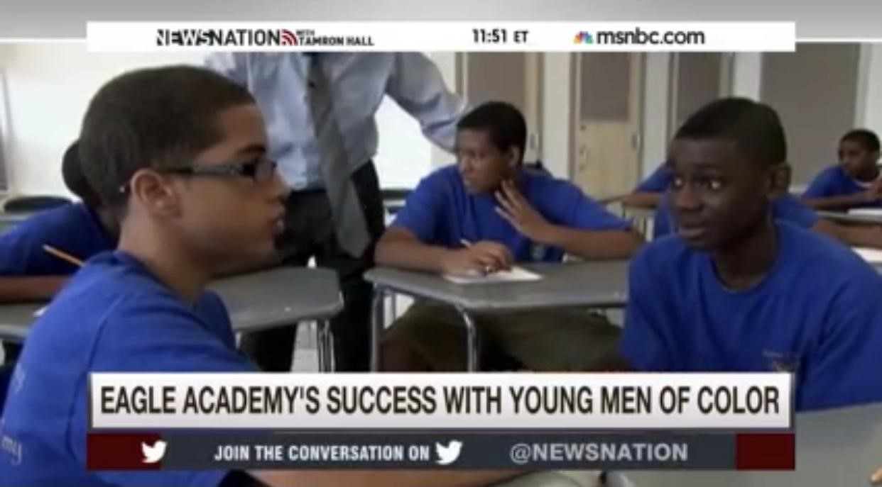 MSNBC: Eagle Academy's Success with Young Men of Color