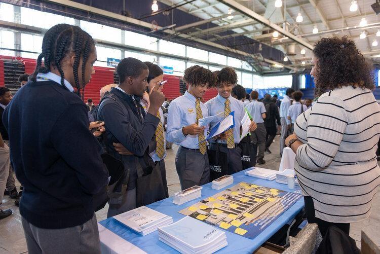 Eagle Academy Foundation Hosts Historic College & Career Fair