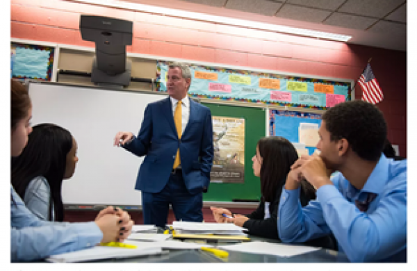 Chalkbeat- A panel of education leaders and advocates was appointed by Mayor Bill de Blasio to guide the city's reopening plans. This panel included Eagle Founder & CEO David C. Banks.